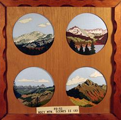 Rocky Mountain Scenes II (FO051)