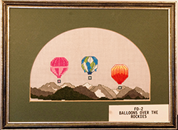 Balloons Over the Mountains - FO002