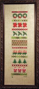 Christmas Sampler/Stockings (ABS006)