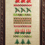 Christmas Sampler/Stockings (ABS006)