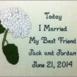 Hydrangea Wedding Sampler GHO55
