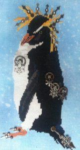 Fireside Originals Steampunk Penguin